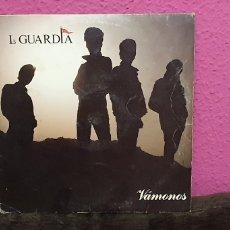 Discos de vinilo: LA GUARDIA - VÁMONOS - DISCO VINILO. Lote 227827471