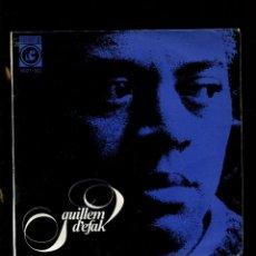 Discos de vinilo: GUILLEM D'EFAK. PLORANT, SETEMBRE, TEMPS PLUJÓS FEBRE, ETC. CONCENTRIC 1965. EP PERFECTE AMB INSERTO. Lote 227830665