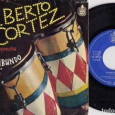 Discos de vinilo: ALBERTO CORTEZ - LAS PALMERAS - EP DE VINILO. Lote 227831035