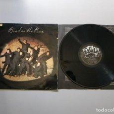 Disques de vinyle: 1120- BAND ON THE RUN MCCARTNEY & WINGS ESPAÑA 1973 LP VIN POR G+ DIS G+. Lote 227841705