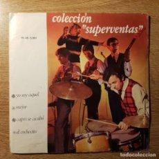 Discos de vinilo: DISCO EP COLECCIÓN SUPERVENTAS CANCIONES DE LOS BRINCOS RAPHAEL. Lote 227841800