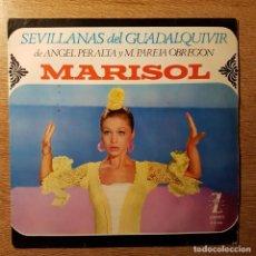 Discos de vinilo: DISCO EP MARISOL SEVILLANAS DEL GUADALQUIVIR. Lote 227842055