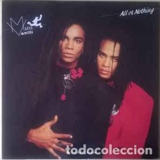 Disques de vinyle: MILLI VANILLI – ALL OR NOTHING (THE FIRST ALBUM). Lote 227859590