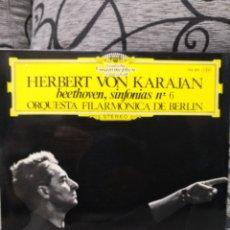 Discos de vinilo: HERBERT VON KARAJAN - SINFONÍA N6. Lote 227882605