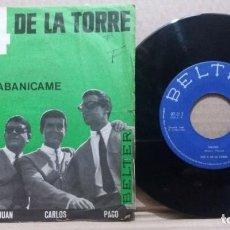 Discos de vinilo: LOS 4 DE LA TORRE / MAMITA / SINGLE 7 INCH. Lote 227884995