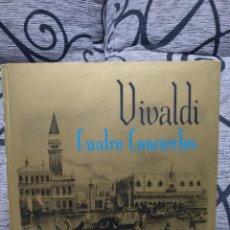 Discos de vinilo: VIVALDI - CUATRO CONCIERTOS. Lote 227891150