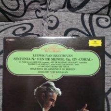 Discos de vinilo: LUDWIG VAN BEETHOVEN SINFONÍA 9. Lote 227892170