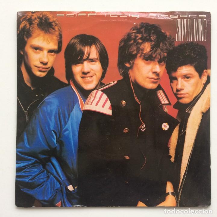 STIFF LITTLE FINGERS – SILVER LINING / SAFE AS HOUSES UK,1981 CHRYSALIS (Música - Discos - Singles Vinilo - Punk - Hard Core)