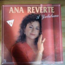 Discos de vinilo: LOTE LP ANA REVERTE. Lote 227911785
