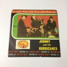 """Discos de vinilo: SINGLE 7"""" - JOHNNY AND THE HURRICANES - ROCKING GOOSE / BEATNIK FLY (EDICIÓN PROMO FONORAMA, 1963). Lote 227912025"""
