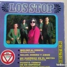 Discos de vinilo: LOS STOP - MOLINO AL VIENTO (EP) 1967. Lote 227917740