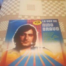 Discos de vinilo: LA VOZ DE NINO BRAVO.POLYDOR 2475723.1980. Lote 227919600