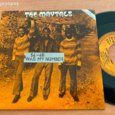 Discos de vinilo: THE MAYTALS ( 54-46 WAS MY NUMBER) SINGLE UK 1984 TRO 9076 (EPI20). Lote 227923335