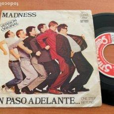 Dischi in vinile: MADNESS (UN PASO ADELANTE) SINGLE ESPAÑA 1980 (EPI20). Lote 227926105