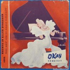 Disques de vinyle: FLEXI-DISC / NACHTS IN ALLEN STRASSEN - DAS HAB ICH IN PARIS GELERNT / OKAY EXQUISIT 1609 ALEMANIA. Lote 227926990
