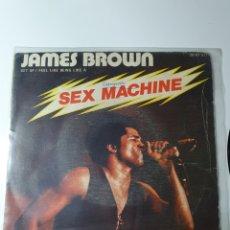 Dischi in vinile: JAMES BROWN - SEX MACHINE, POLYDOR 2001071, ESPAÑA 1974.. Lote 227940355