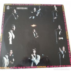 Discos de vinilo: RAPHAEL - AT THE TALK OF THE TOWN LONDON- SPAIN LP 1970.. Lote 227946910