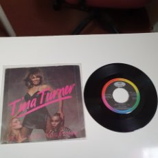 Disques de vinyle: TINA TURNER - LET'S STAY TOGETHER / I WROTE A LETTER, CAPITOLIO RECORDS 006-1868197, ESPAÑA 1983.. Lote 227948035
