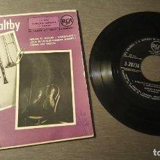Discos de vinilo: RICHARD MALTBY Y SU ORQUESTA EPS SUENA EL VIOLIN Y TRES MAS. Lote 227949655
