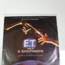 Disques de vinyle: E.T. - TEMA DEL EXTRATERRESTRE, BANDA SONORA OIGINAL.. Lote 227955645
