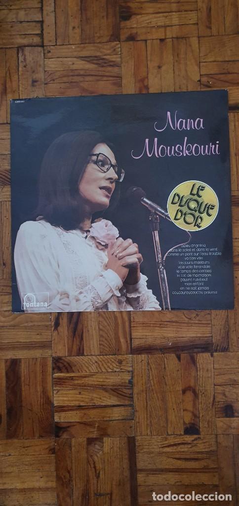 NANA MOUSKOURI – LE DISQUE D'OR SELLO: FONTANA – 9101 511 SERIE: LE DISQUE D'OR – FORMATO: VINYL, (Música - Discos - LP Vinilo - Canción Francesa e Italiana)