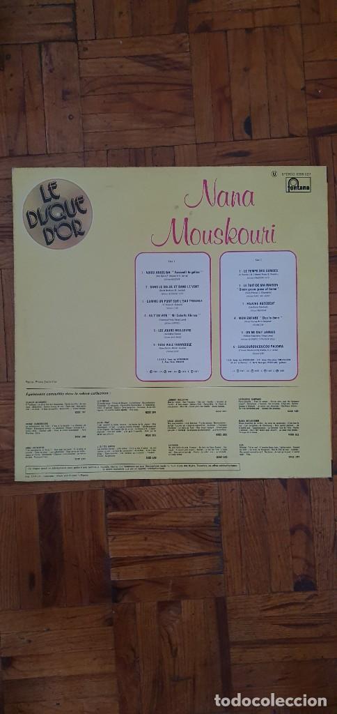 Discos de vinilo: Nana Mouskouri – Le Disque DOr Sello: Fontana – 9101 511 Serie: Le Disque DOr – Formato: Vinyl, - Foto 2 - 227960510