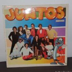 Discos de vinilo: JUNTOS LP DISCO DE VINILO EXITOS. Lote 227972640