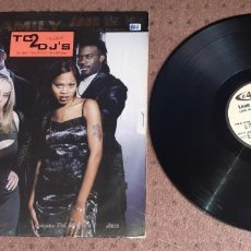 Discos de vinilo: 2-4 FAMILY - LEAN ON ME ( WITH THE FAMILY ) - MAXI - GERMANY - EPIC - PLS 866 - L -. Lote 227980085