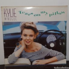 Discos de vinilo: KYLIE MINOGUE - TEARS ON MY PILLOW - MAXISINGLE. Lote 227980125