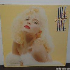 Discos de vinilo: OLÉ OLÉ - LOS CABALLEROS LAS PREFIEREN RUBIAS - LP DISCO DE VINILO. Lote 227980950