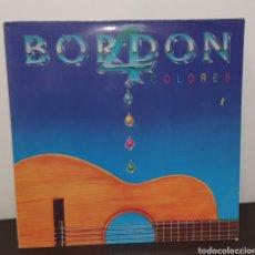 Discos de vinilo: BORDON 4 - COLORES - LP DISCO DE VINILO. Lote 227982015