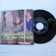 Disques de vinyle: THE MAMA'S & THE PAPA'S* – I SAW HER AGAIN / GO WHERE YOU WANNA GO SINGLE ESPAÑOL 1966 VG/VG+. Lote 227988110