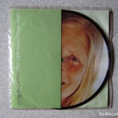Discos de vinilo: LINDA MCCARTNEY.THE LIGHT COMES FROM WITHIN-I GOT UP...PICTURE COMO NUEVO. Lote 227992080
