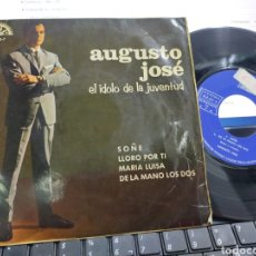 Discos de vinilo: AUGUSTO JOSÉ EP SOÑÉ + 3 1965. Lote 227998455