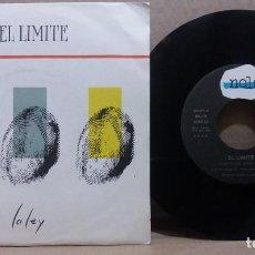 Disques de vinyle: EL LIMITE / VIENTO DEL ESTE / SINGLE 7 INCH. Lote 228017115