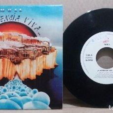Discos de vinilo: MOLL / LA HERENCIA VIVA / SINGLE 7 INCH. Lote 228019700