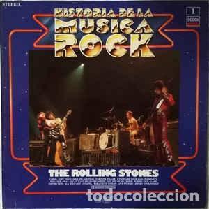 THE ROLLING STONES – HISTORIA DE LA MUSICA ROCK (Música - Discos - LP Vinilo - Pop - Rock - Extranjero de los 70)