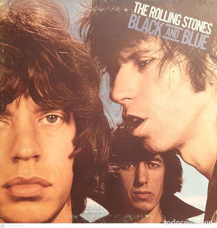 THE ROLLING STONES ‎– BLACK AND BLUE (Música - Discos - LP Vinilo - Pop - Rock - Extranjero de los 70)