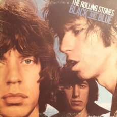 Discos de vinilo: THE ROLLING STONES ‎– BLACK AND BLUE. Lote 228021740