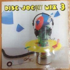 Discos de vinilo: LP DISC JOCKEY MIX 3. Lote 228023235