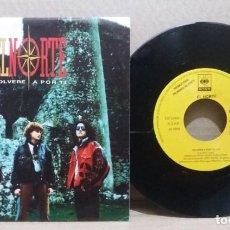 Disques de vinyle: EL NORTE / VOLVERE A POR TI / SINGLE 7 INCH. Lote 228025200