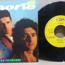 Disques de vinyle: EL NORTE / NUNCA TE FALLARE / SINGLE 7 INCH. Lote 228025451