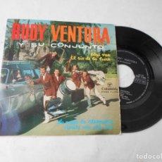 Discos de vinilo: VINILO SINGLE DE RUDY VENTURA. Lote 228028550