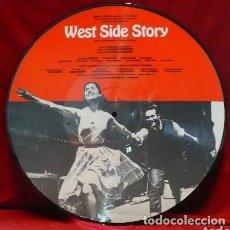 Discos de vinilo: WEST SIDE STORY * ORIGINAL SOUNDTRACK * LP PICTURE * FOTODISCO * MUY RARO * DINAMARCA * NUEVO. Lote 29097355
