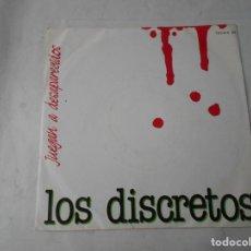 Discos de vinilo: VINILO SINGLE DE LOS DISCRETOS. Lote 228029315
