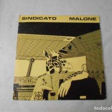 Discos de vinilo: VINILO DE SINDICATO MALONE. Lote 228029610