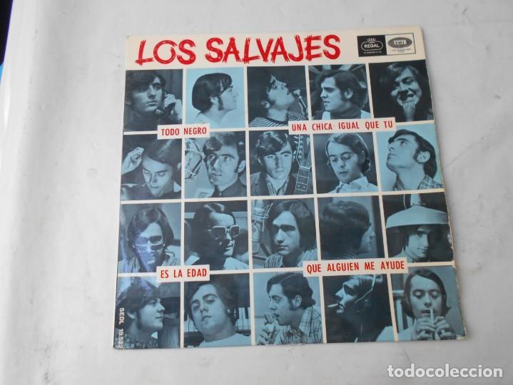 VINILO SIGLE DE LOS SALVAJES (Música - Discos - Singles Vinilo - Grupos Españoles de los 70 y 80)