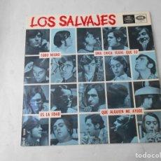 Discos de vinilo: VINILO SIGLE DE LOS SALVAJES. Lote 228029930
