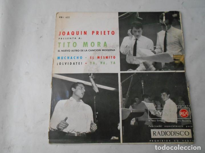 VINILO DE TITO MORA (Música - Discos - Singles Vinilo - Grupos Españoles de los 70 y 80)