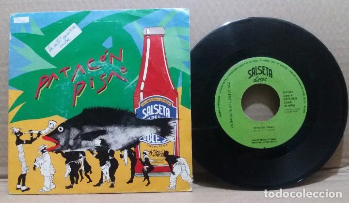 LA SALSETA DEL POBLE SEC / PATACON PISAO / SINGLE 7 INCH (Música - Discos - Singles Vinilo - Grupos Españoles de los 70 y 80)